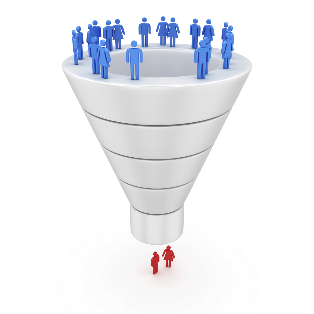 sales funnel people