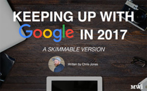 Keeping Up With Google in 2017: A Skimmable Version