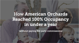 How American Orchards Reached 100% Occupancy in under a Year (without paying 3rd party commissions)