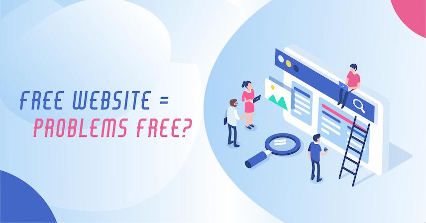 【點解要免費整網頁?係窮呀!】網上創業第一步:免費網頁隱憂問與答!
