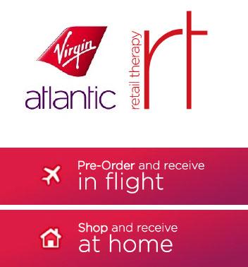 Virgin Atlantic Retail Therapy Shopping